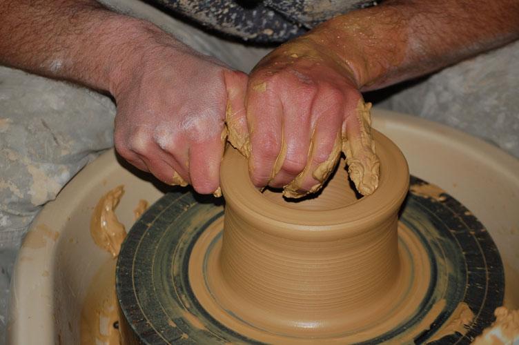 poterie-tournage