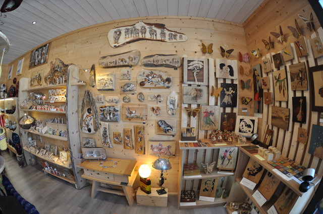 Atelier du bois - Vue Stand