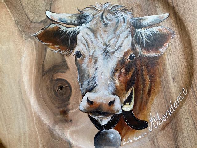 Atelier du bois - Vache Abondance