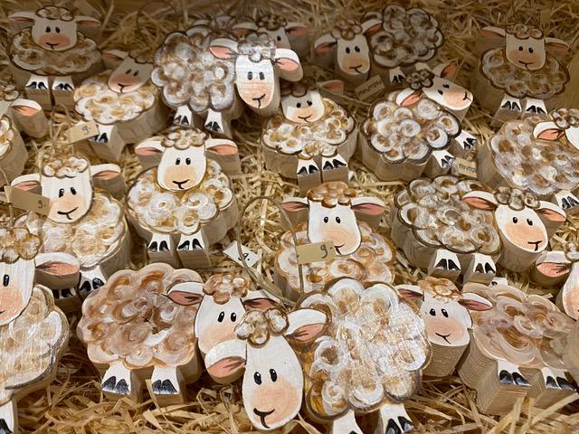 Atelier du bois - Moutons